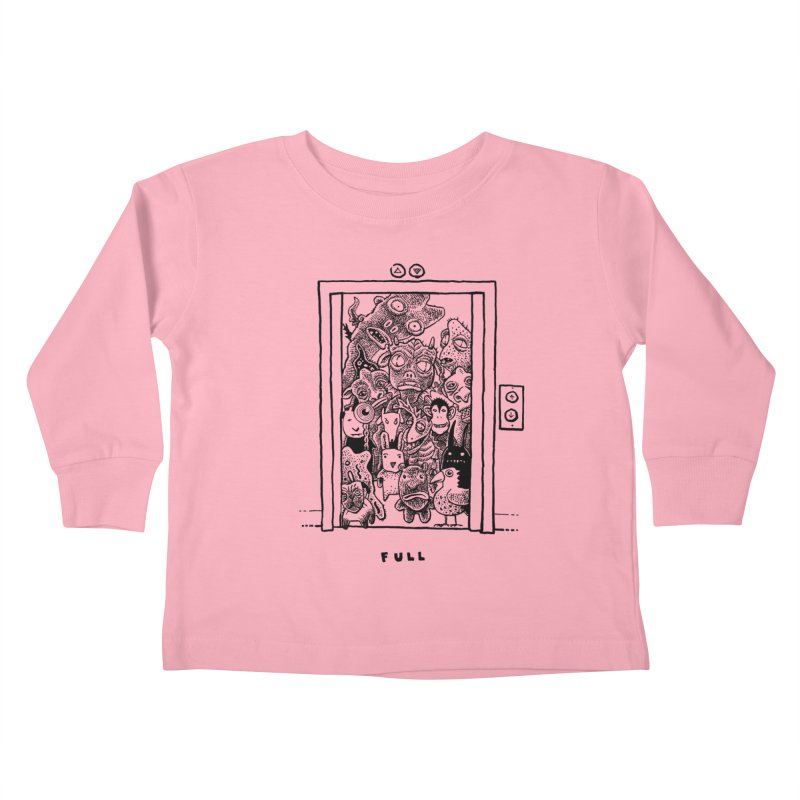 Full Kids Toddler Longsleeve T-Shirt by Calamityware