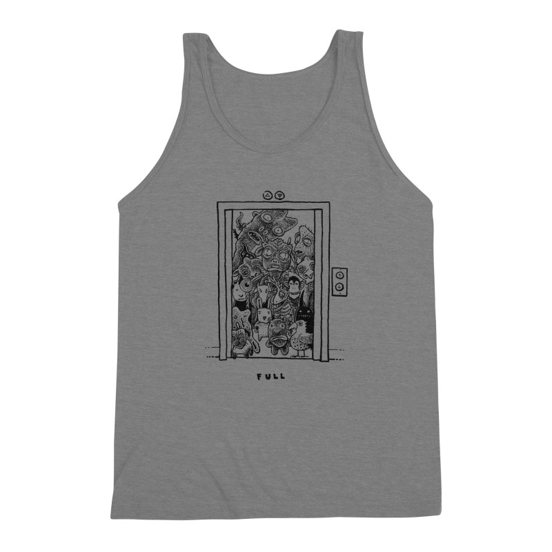 Full Men's Triblend Tank by Calamityware