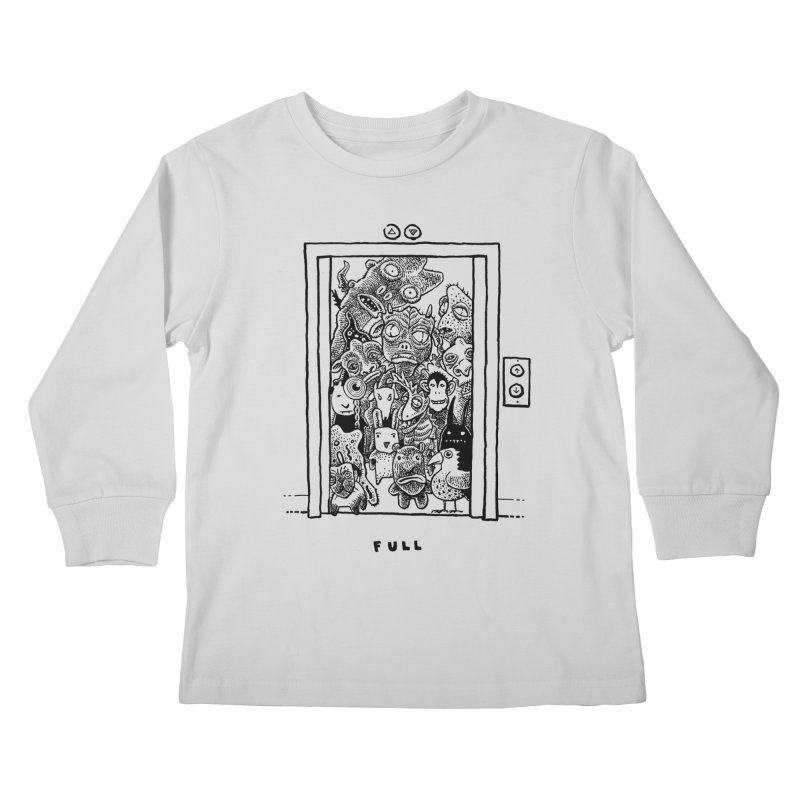 Full Kids Longsleeve T-Shirt by Calamityware
