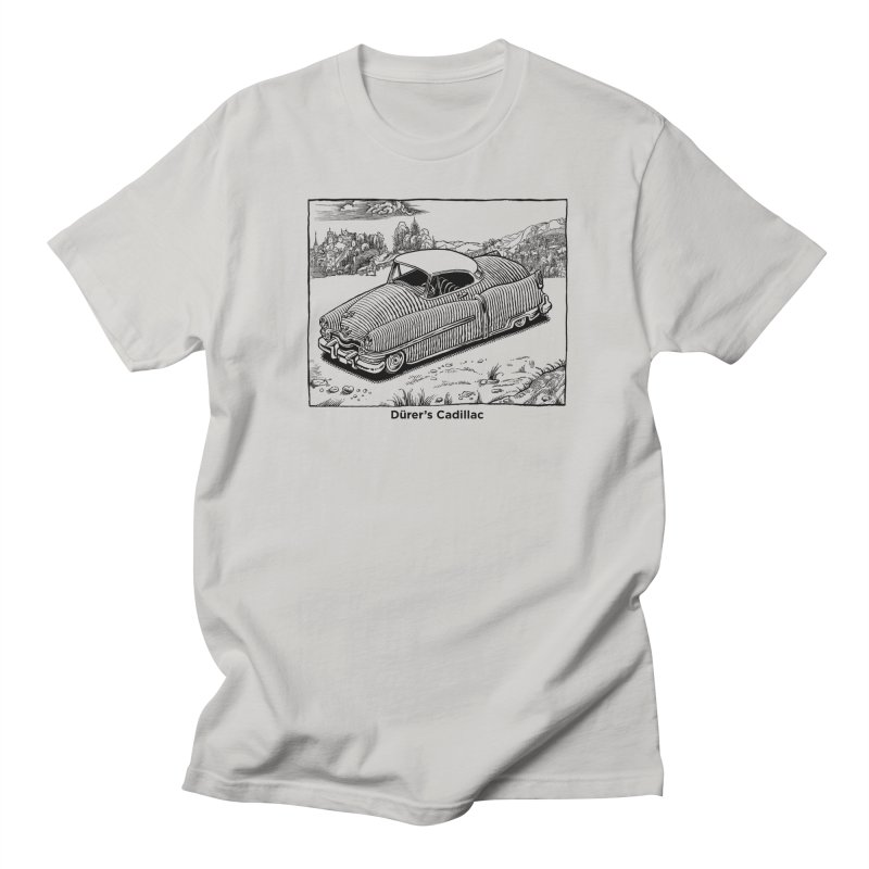 Dürer's Cadillac Men's Regular T-Shirt by Calamityware