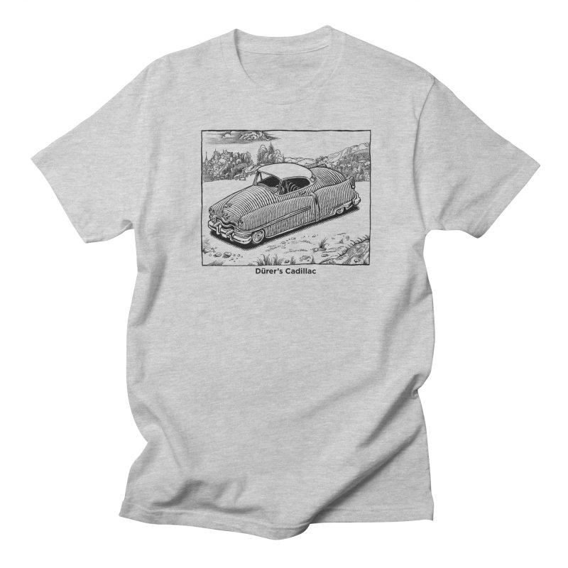 Dürer's Cadillac Men's Regular T-Shirt by Calamityware