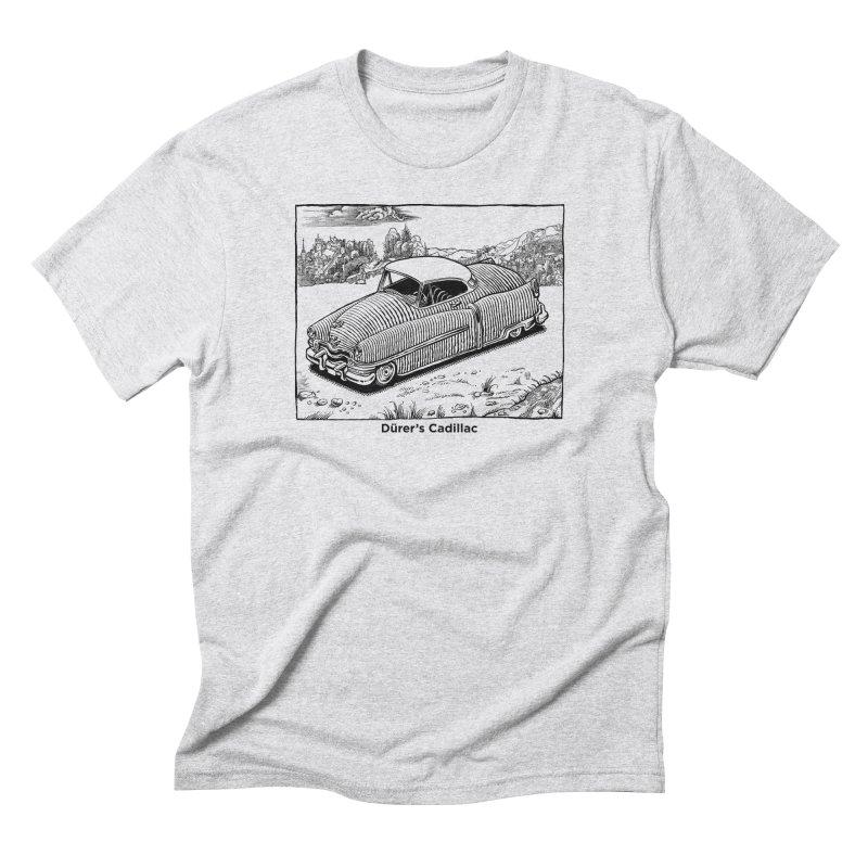 Dürer's Cadillac Men's Triblend T-Shirt by Calamityware