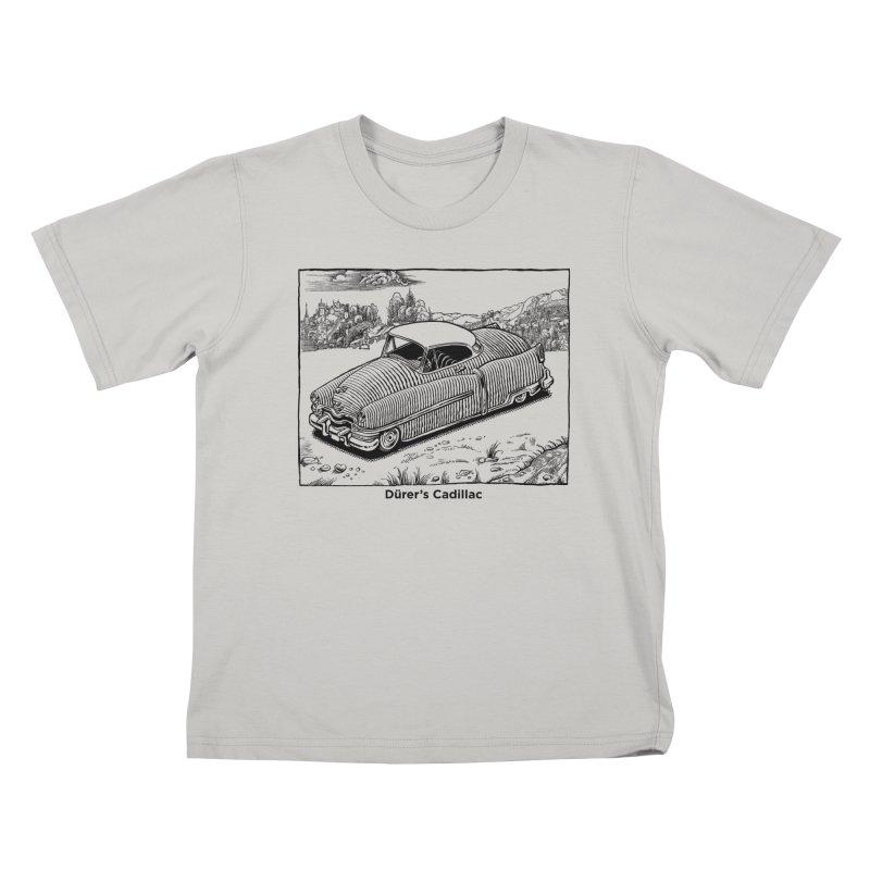 Dürer's Cadillac Kids T-shirt by Calamityware