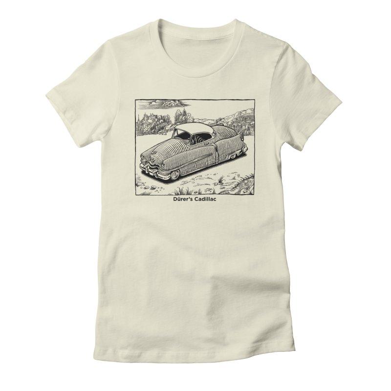 Dürer's Cadillac Women's T-Shirt by Calamityware