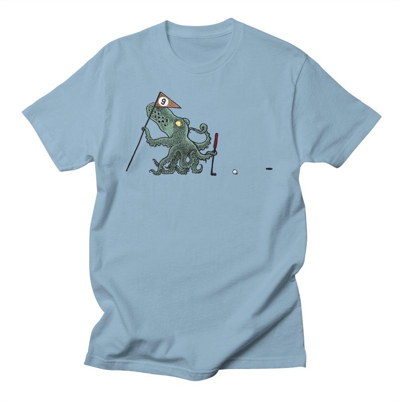 Octoputts Men's Regular T-Shirt by Calamityware