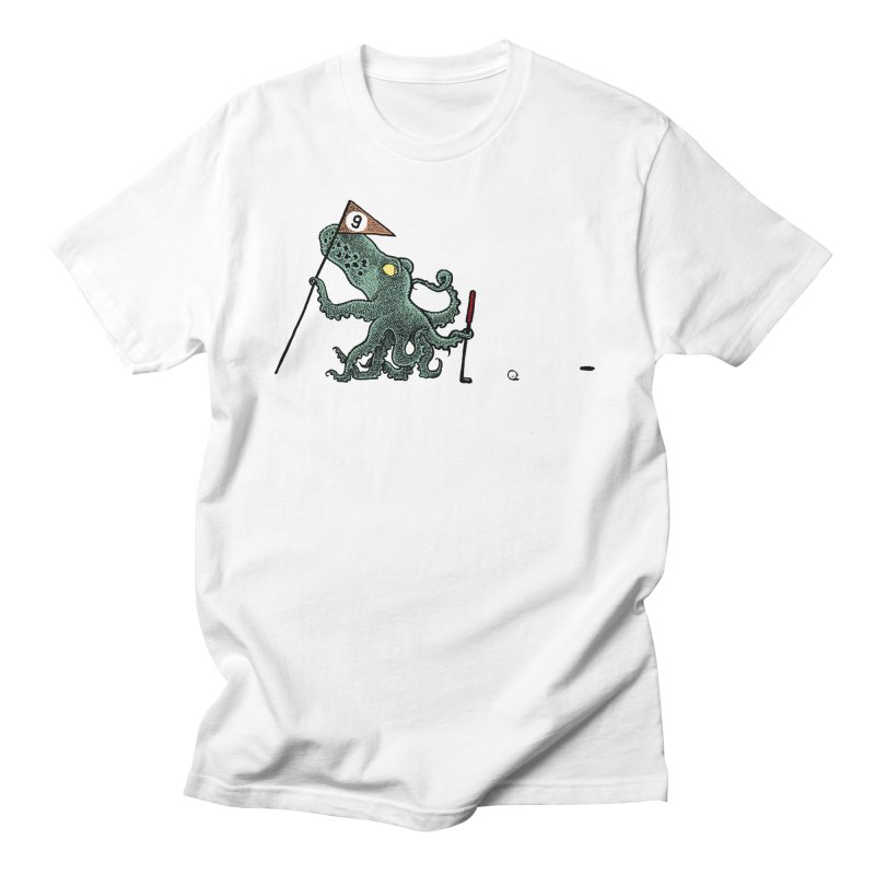 Octoputts Men's Regular T-Shirt by Calamityware