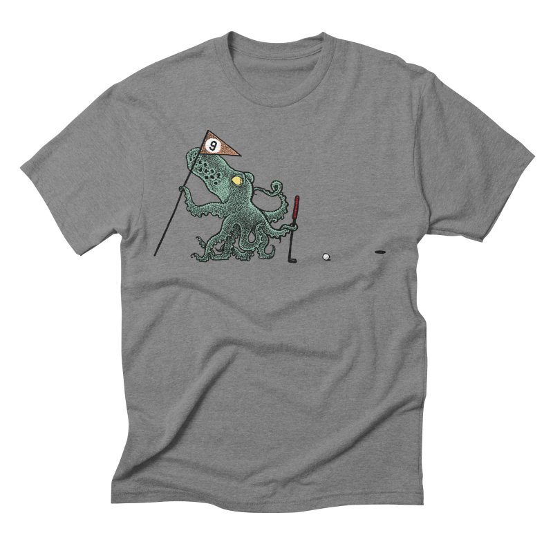 Octoputts Men's Triblend T-shirt by Calamityware