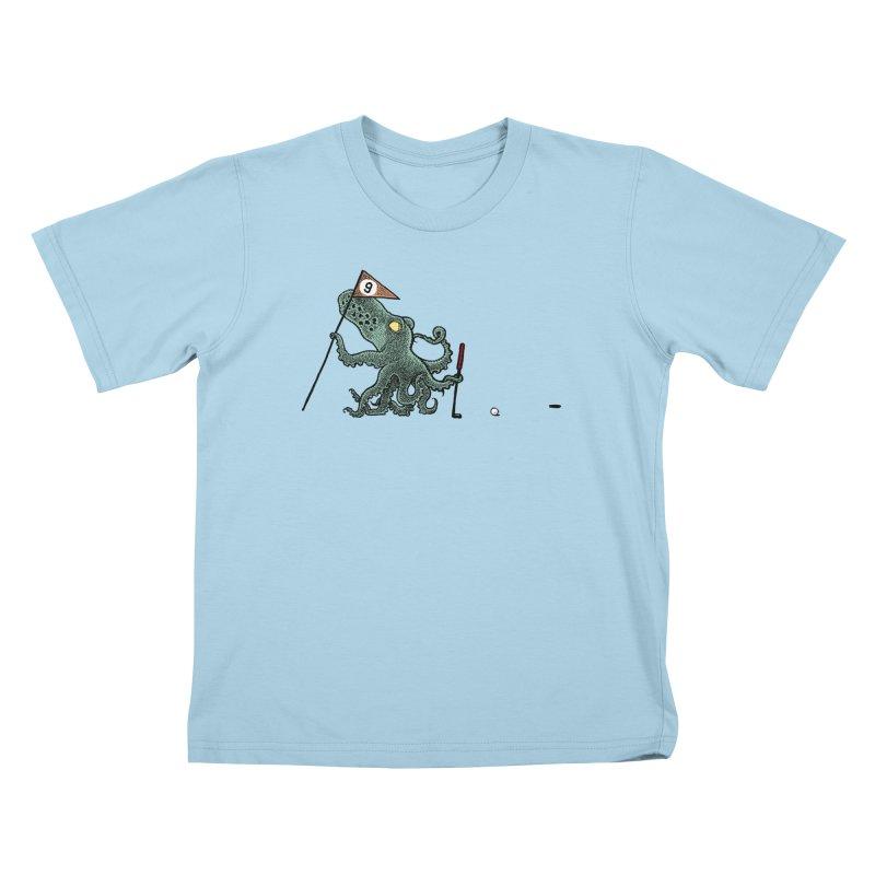Octoputts Kids T-Shirt by Calamityware