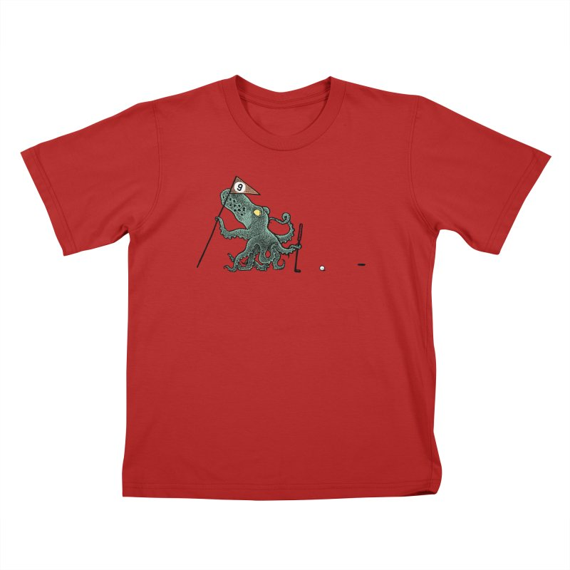 Octoputts Kids T-shirt by Calamityware
