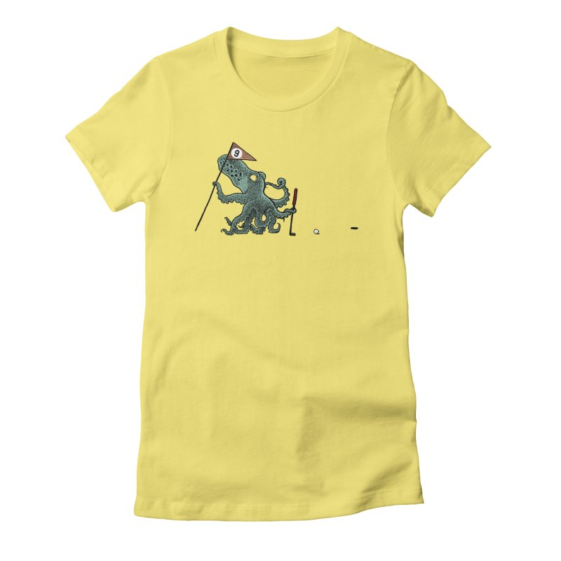 Octoputts Women's T-Shirt by Calamityware
