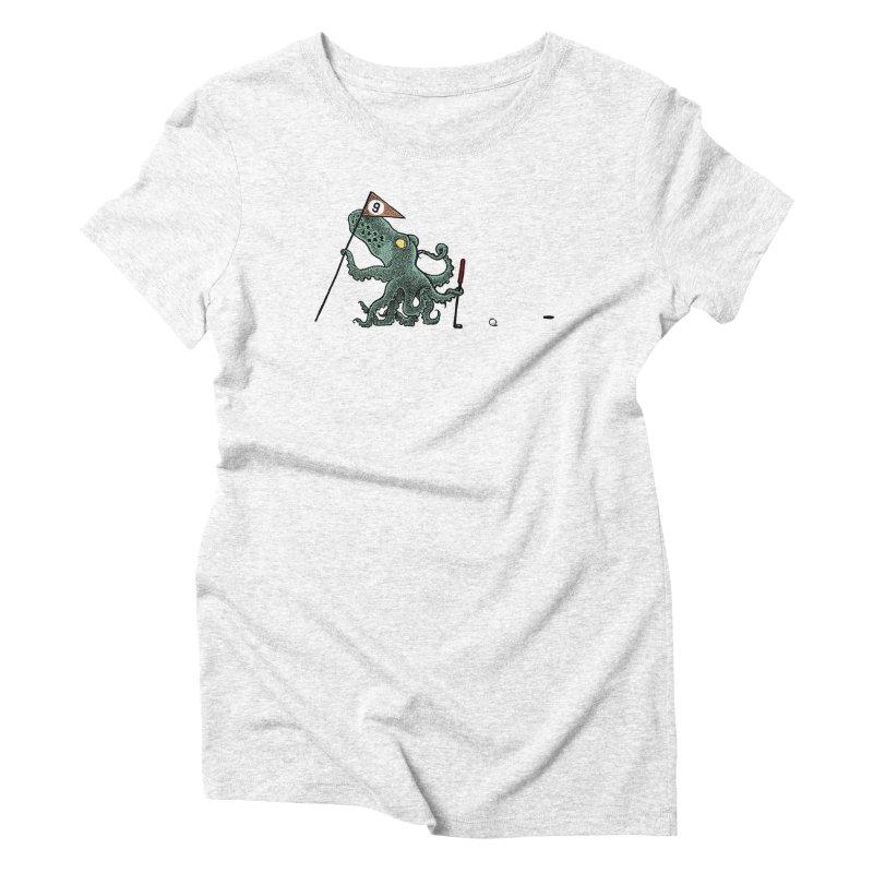 Octoputts Women's Triblend T-shirt by Calamityware