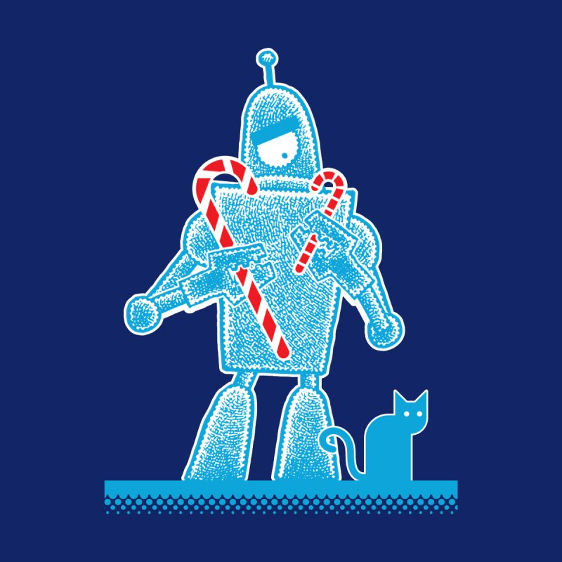 Robot Candy Cane by Calamityware