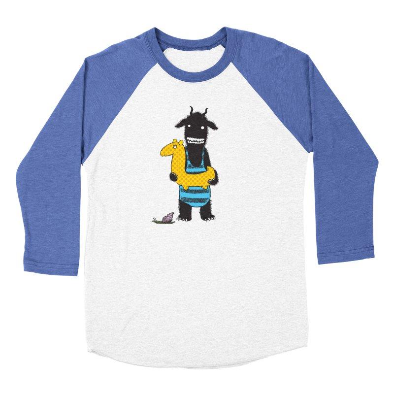 Bathing Beauty Men's Baseball Triblend Longsleeve T-Shirt by Calamityware