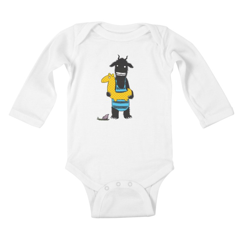 Bathing Beauty Kids Baby Longsleeve Bodysuit by Calamityware