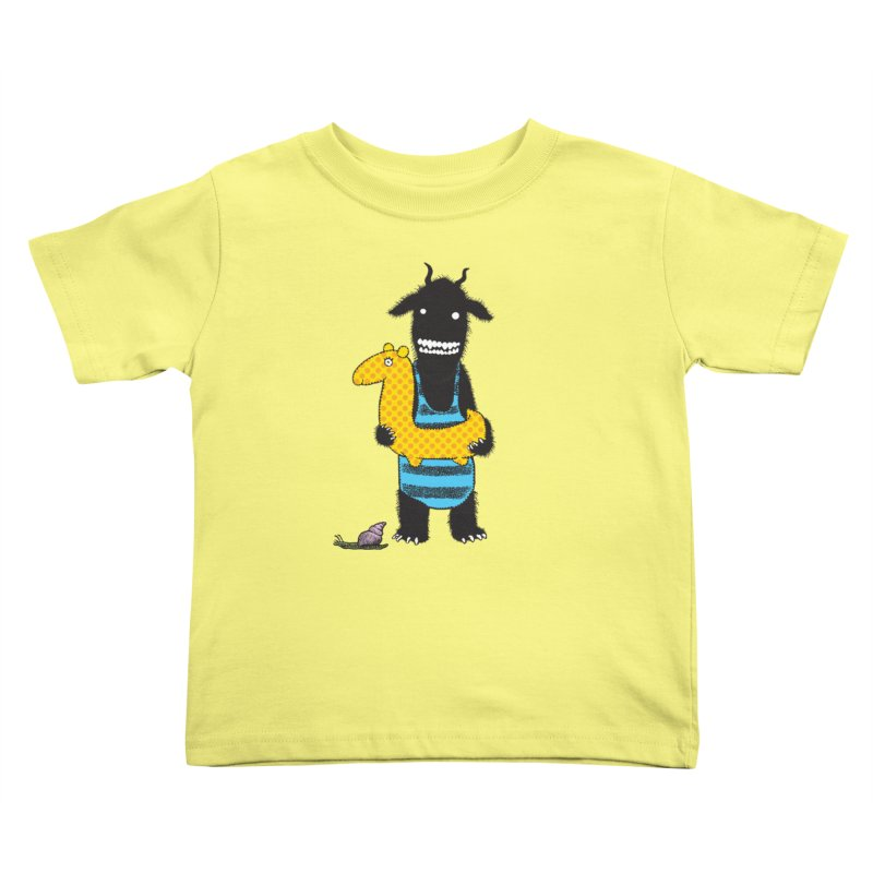 Bathing Beauty Kids Toddler T-Shirt by Calamityware