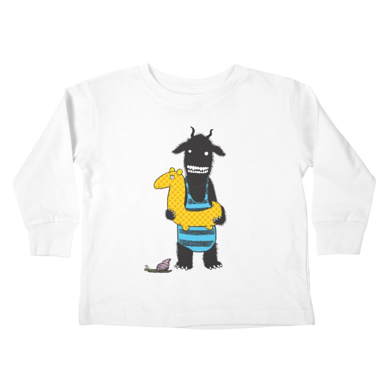 Bathing Beauty Kids Toddler Longsleeve T-Shirt by Calamityware