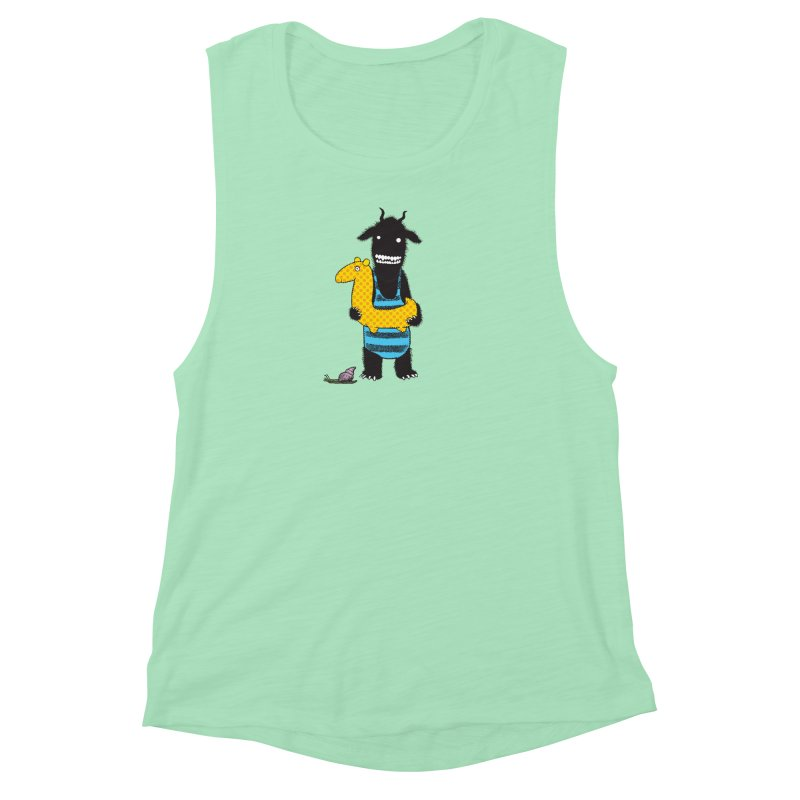 Bathing Beauty Women's Muscle Tank by Calamityware