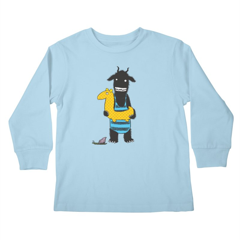 Bathing Beauty Kids Longsleeve T-Shirt by Calamityware