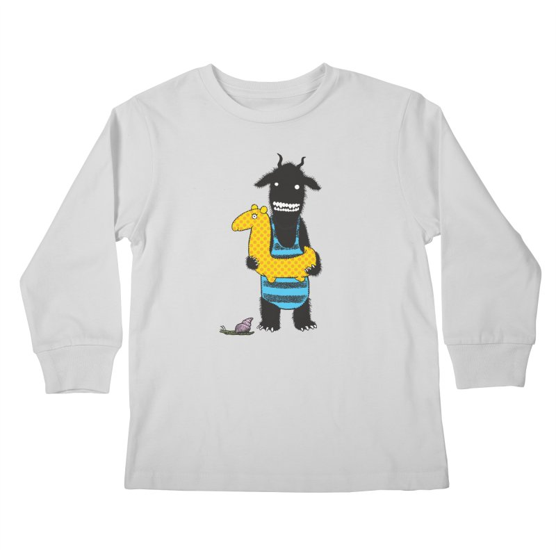 Bathing Beauty Kids Longsleeve T-Shirt by Calamityware