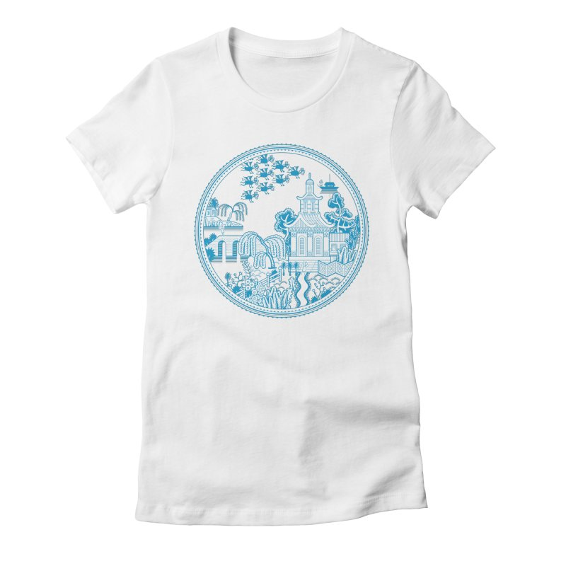 Flying Monkeys Women's Fitted T-Shirt by Calamityware