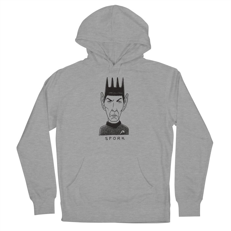 Spork Men's French Terry Pullover Hoody by Calamityware