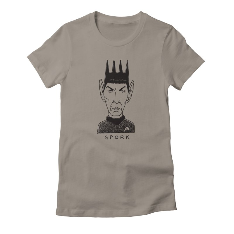 Spork Women's Fitted T-Shirt by Calamityware