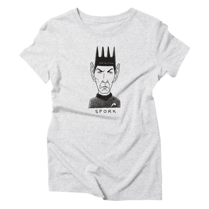 Spork Women's Triblend T-Shirt by Calamityware