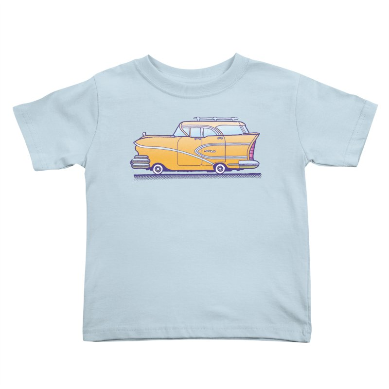 1958 Buick Kids Toddler T-Shirt by Calamityware