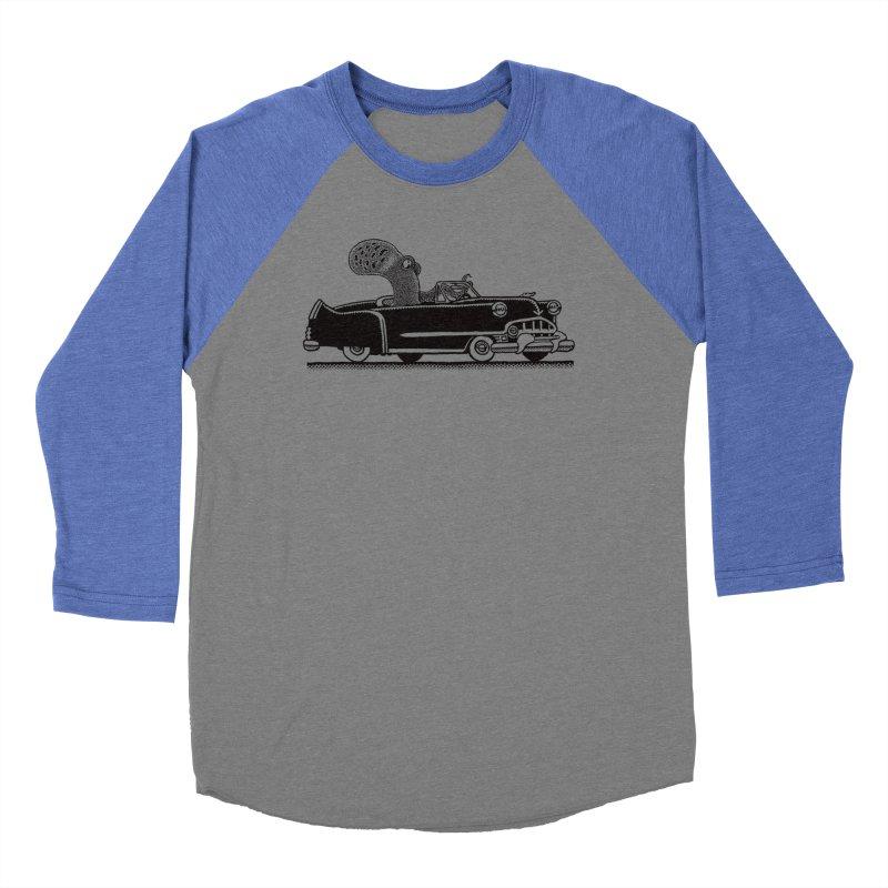 OctoCaddy Men's Baseball Triblend Longsleeve T-Shirt by Calamityware