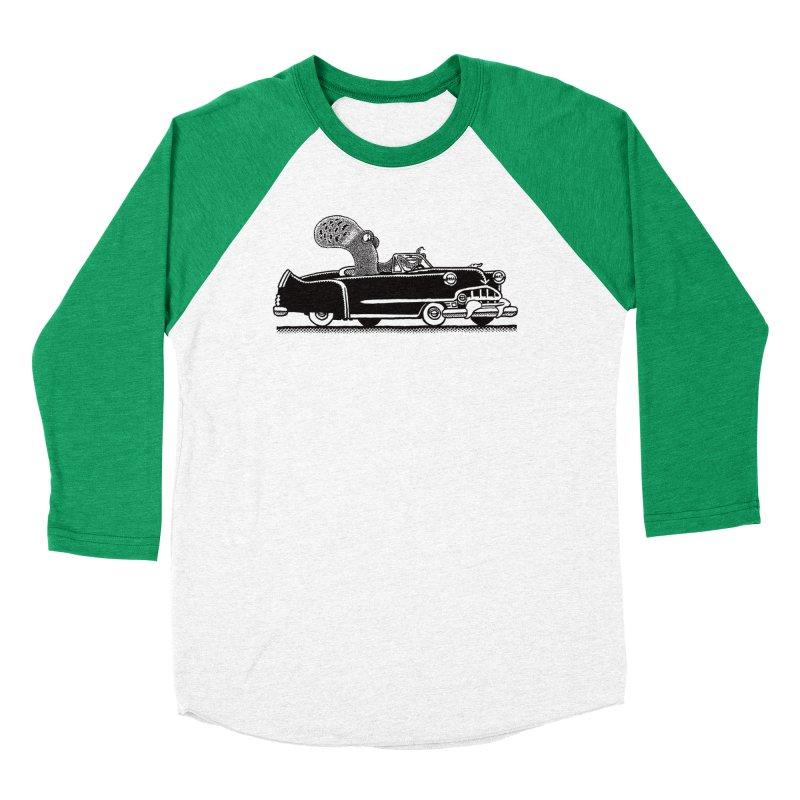 OctoCaddy Men's Baseball Triblend T-Shirt by Calamityware