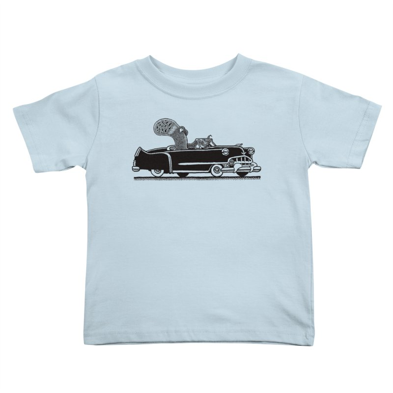 OctoCaddy Kids Toddler T-Shirt by Calamityware