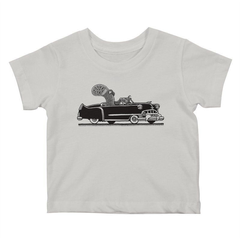 OctoCaddy Kids Baby T-Shirt by Calamityware