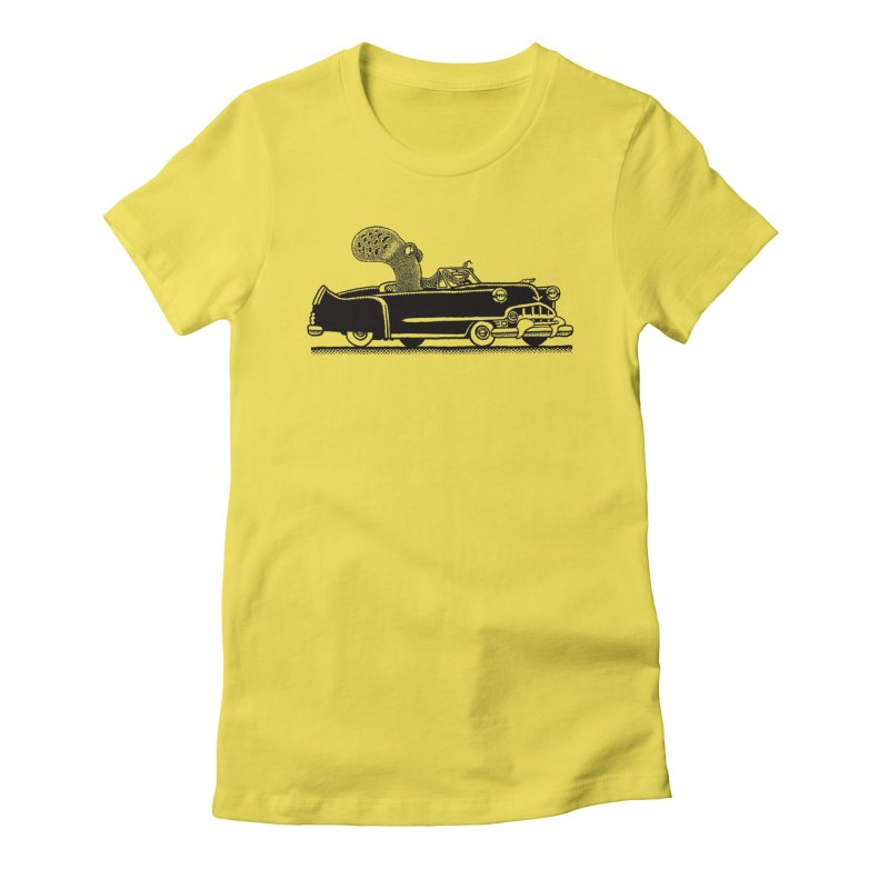 OctoCaddy Women's Fitted T-Shirt by Calamityware