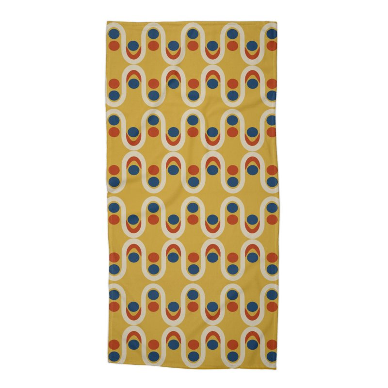 Steve Dots Circus  Accessories Beach Towel by Caligráfica