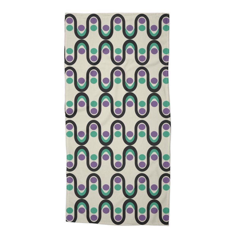 Steve Dots Pucci Accessories Beach Towel by Caligráfica
