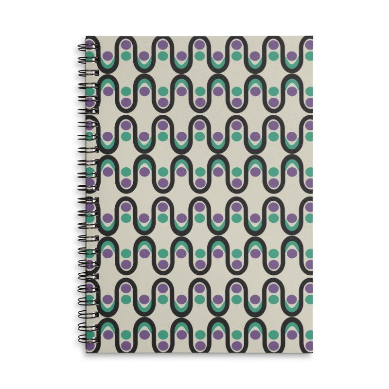 Steve Dots Pucci Accessories Lined Spiral Notebook by Caligráfica