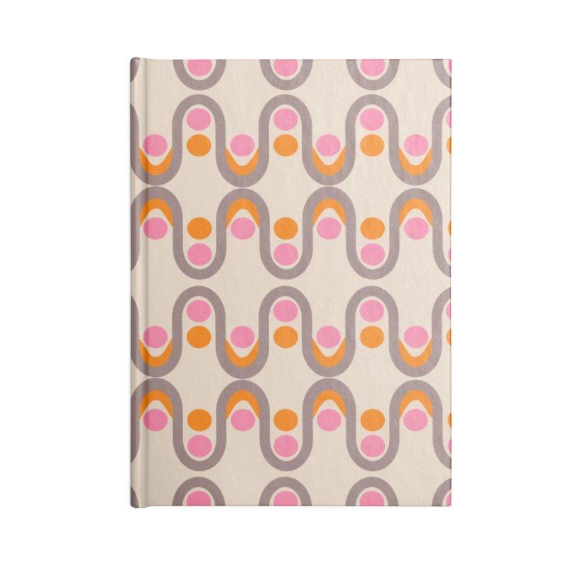 Steve Dots Sixties Accessories Lined Journal Notebook by Caligráfica