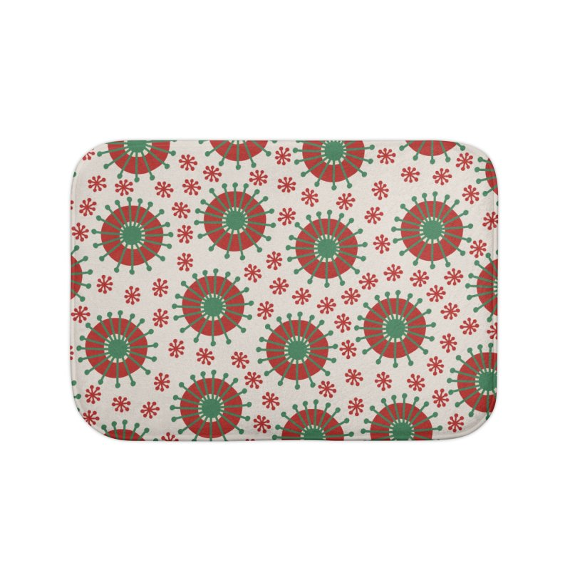 Carousel Christmas Home Bath Mat by Caligráfica
