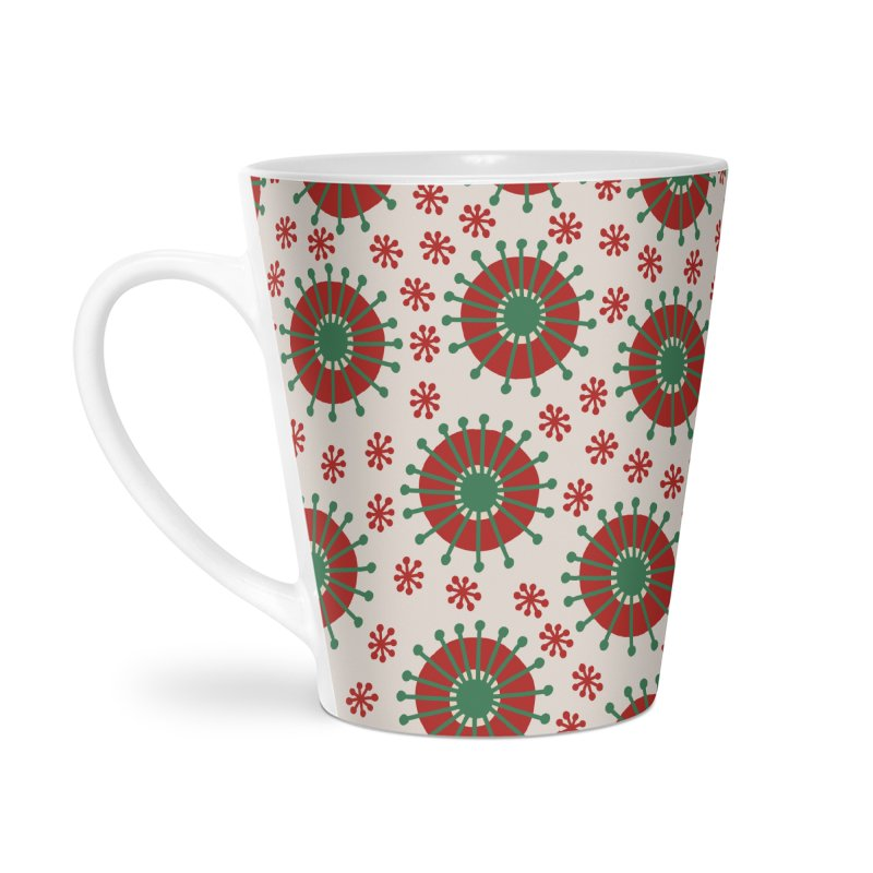 Carousel Christmas Accessories Latte Mug by Caligráfica