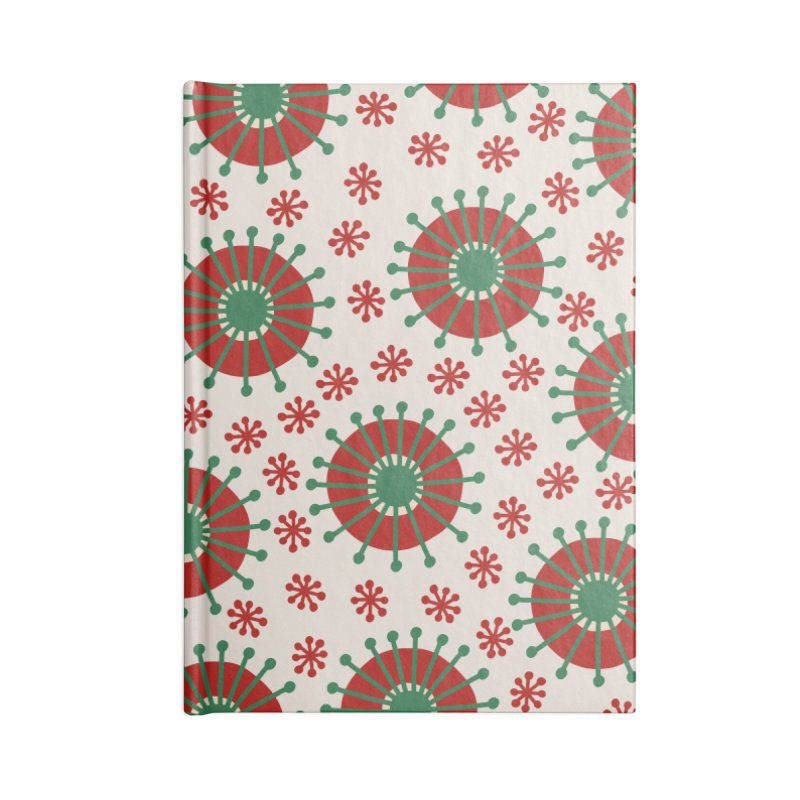 Carousel Christmas Accessories Lined Journal Notebook by Caligráfica