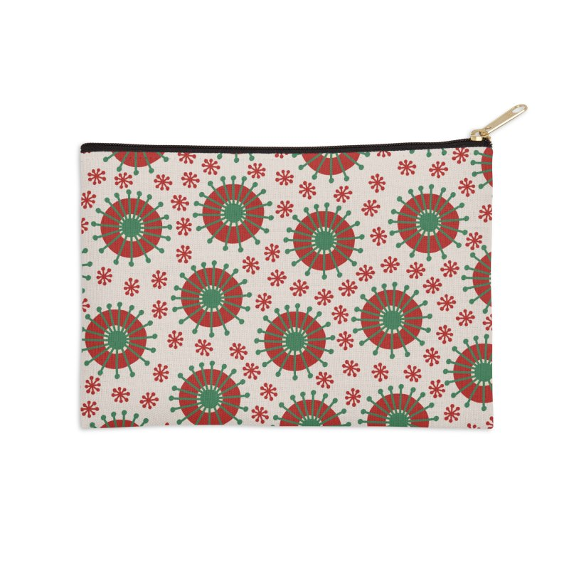 Carousel Christmas Accessories Zip Pouch by Caligráfica