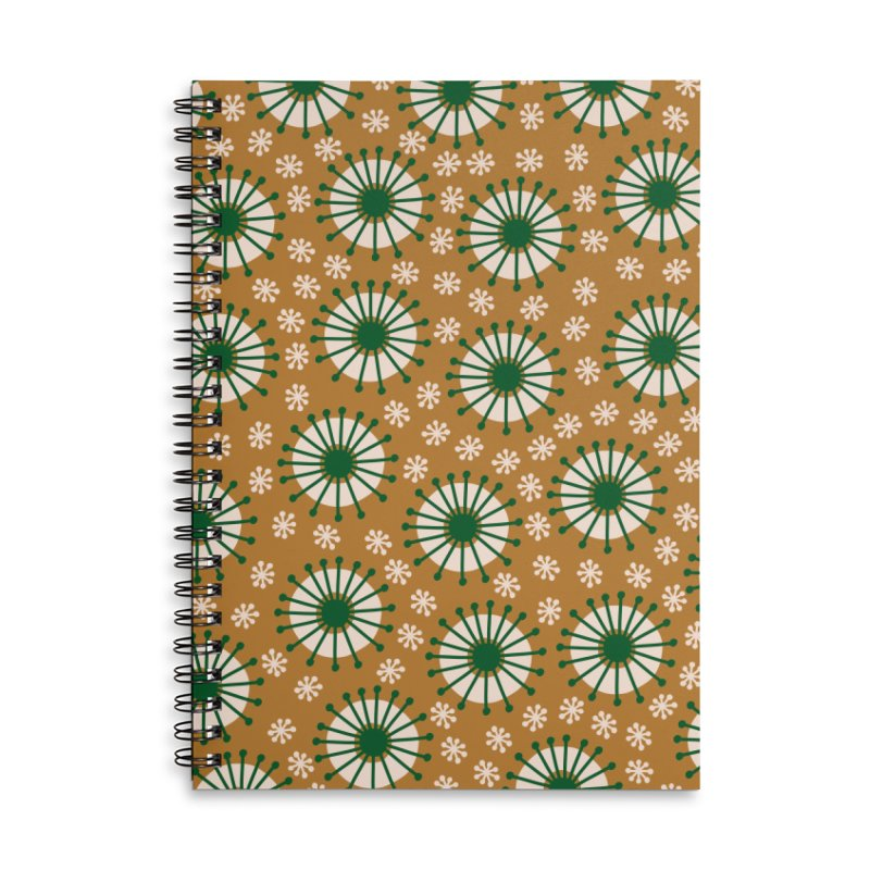 Carousel Amber Accessories Lined Spiral Notebook by Caligráfica