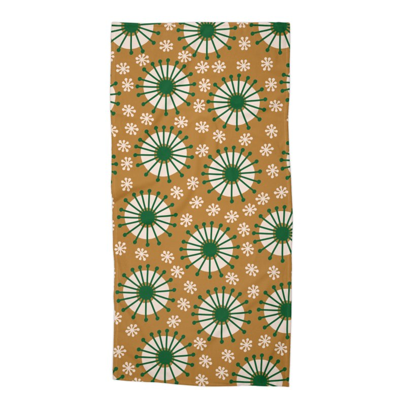 Carousel Amber Accessories Beach Towel by Caligráfica