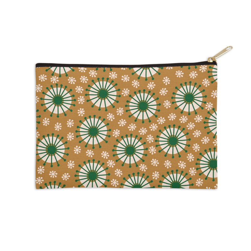 Carousel Amber Accessories Zip Pouch by Caligráfica