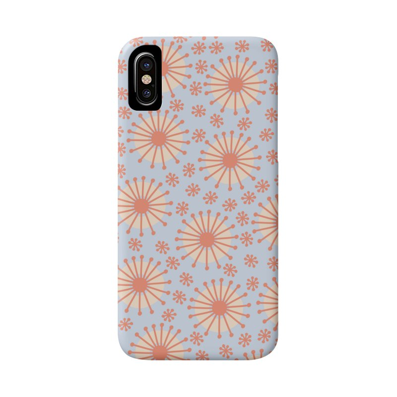 Carousel Blue Retro Accessories Phone Case by Caligráfica