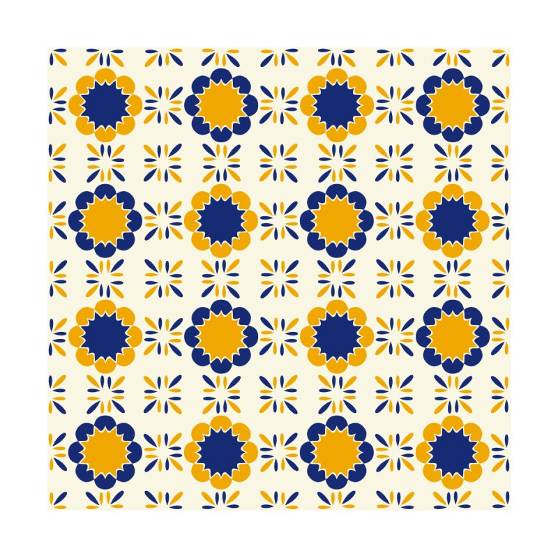Lisboeta Tile Home Fine Art Print by Caligráfica