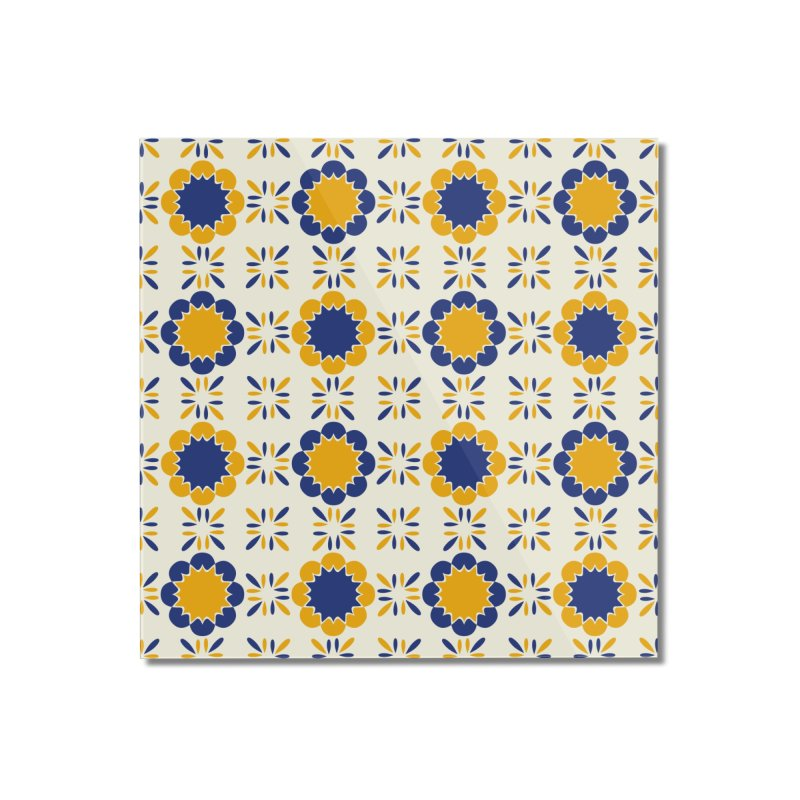 Lisboeta Tile Home Mounted Acrylic Print by Caligráfica