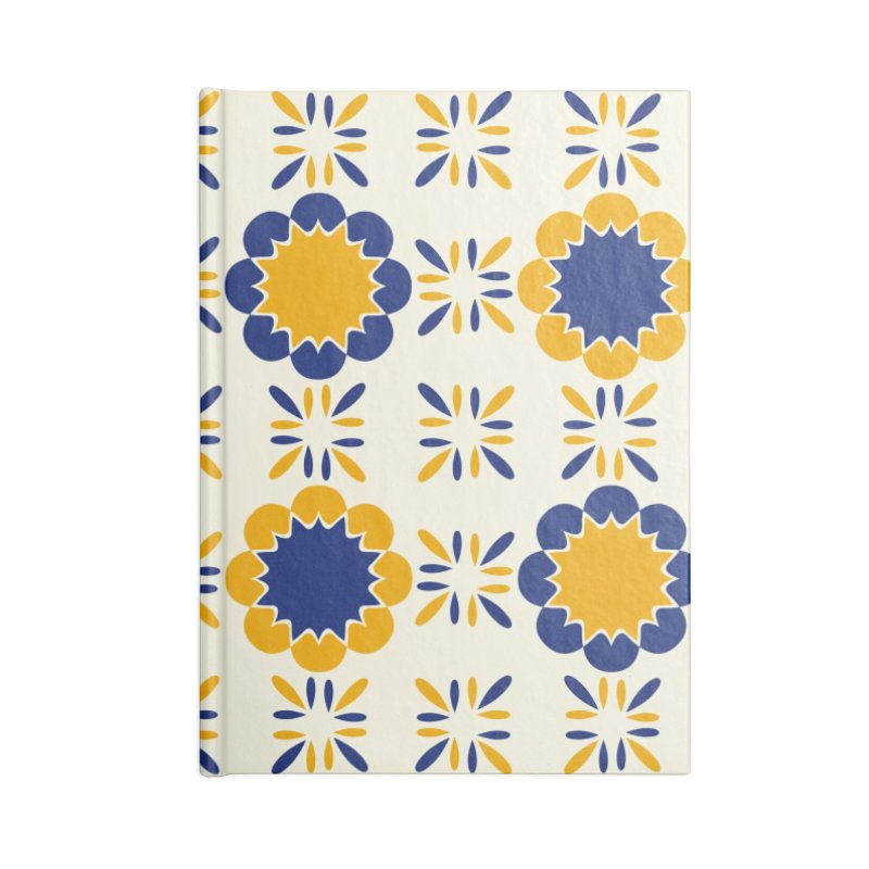 Lisboeta Tile Accessories Lined Journal Notebook by Caligráfica