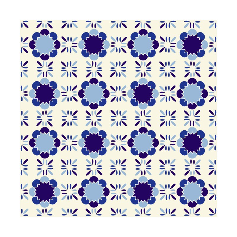 Portuense Tile Home Fine Art Print by Caligráfica
