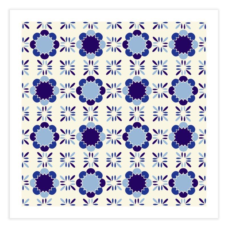 Portuense Tile Home Fine Art Print by Caligráfica